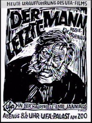 Der letzte Mann poster 2