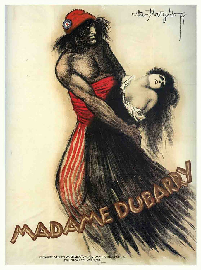 Madame DuBarry poster