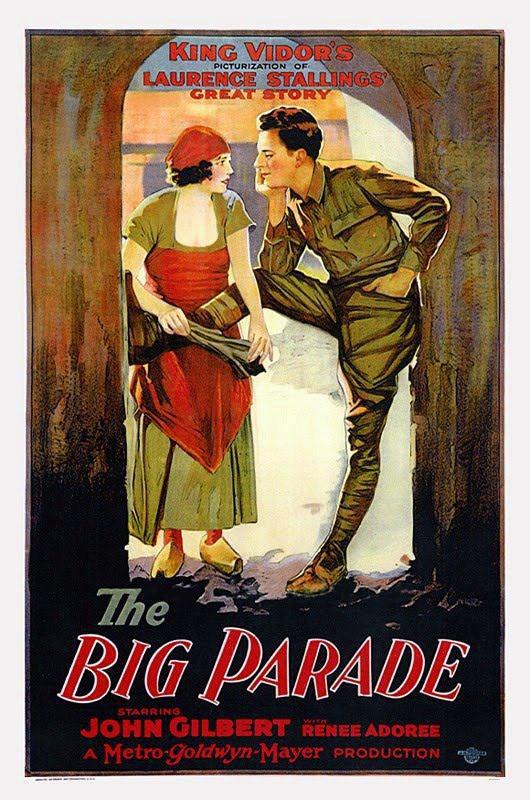 The Big Parade poster