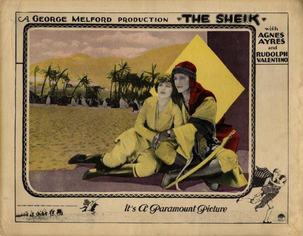 The Sheik poster