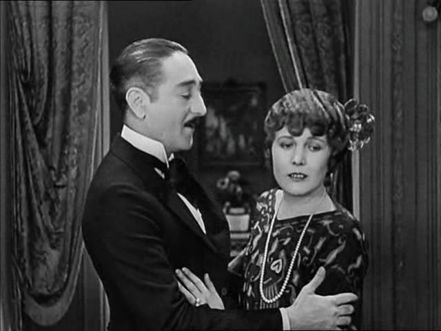 Adolphe Menjou + Edna Purviance - A Woman of Paris (1923) choices