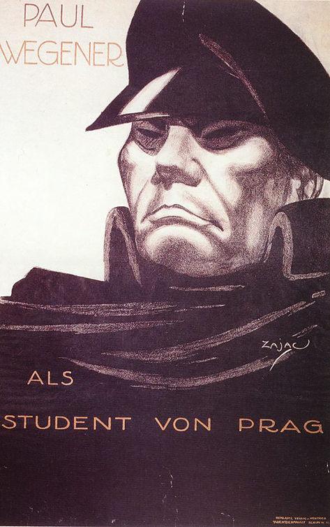 Der Student von Prag poster