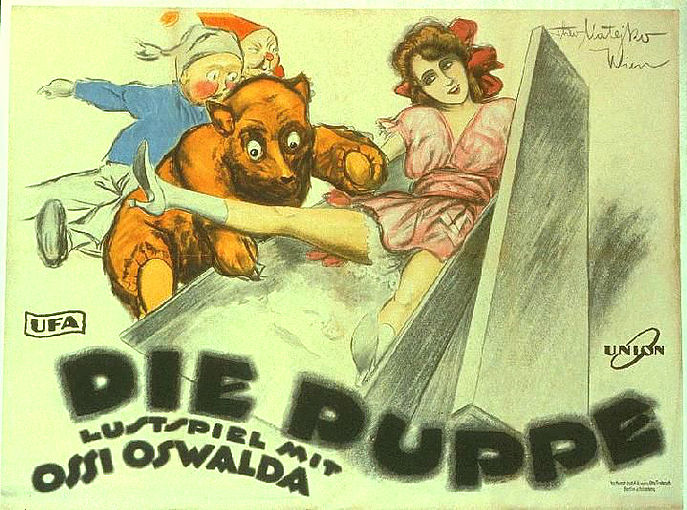 Die Puppe poster