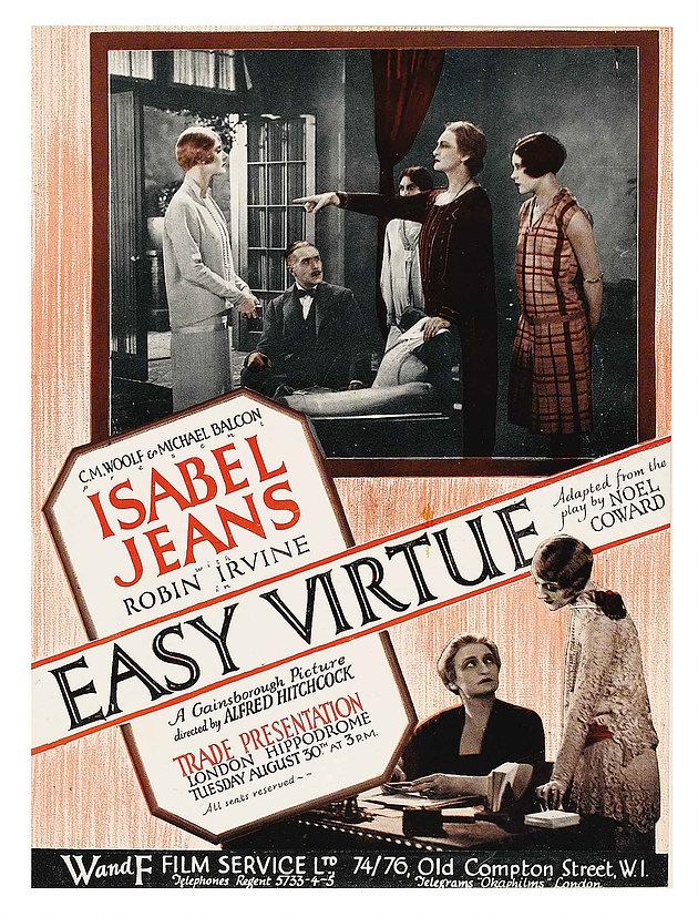 Easy Virtue poster