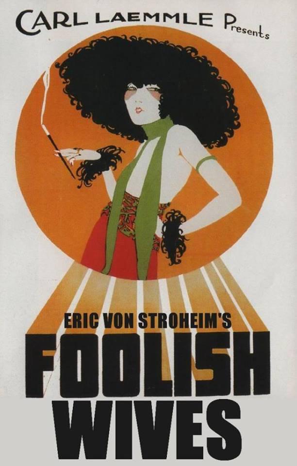 Foolish Wives poster 2