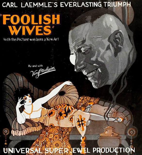 Foolish Wives poster