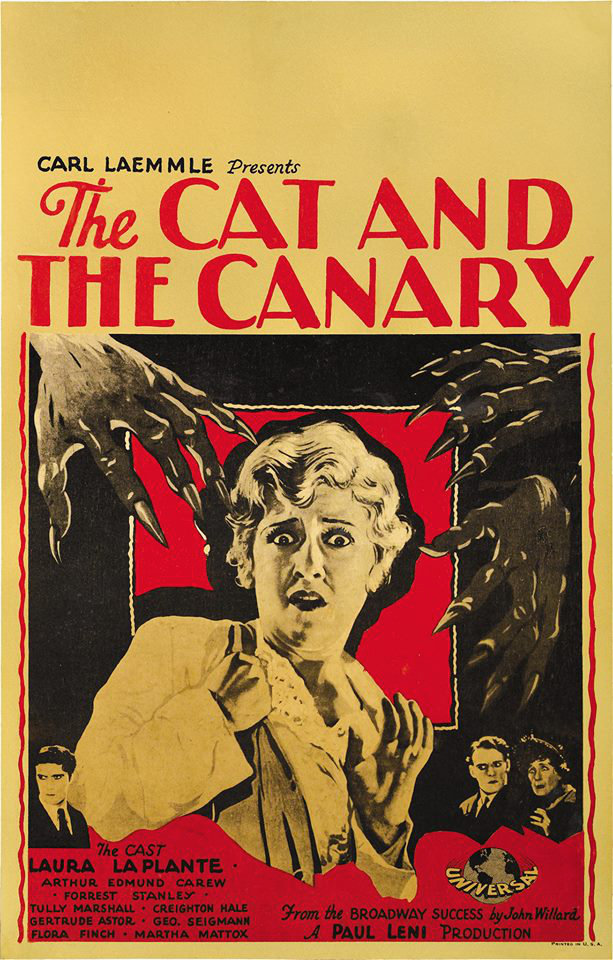 The Cat and the Canary poster 2