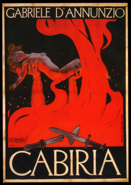 Cabiria 1914 rŽal : Giovanni Pastrone Collection Christophel