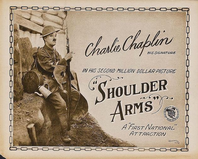 shoulder arms poster