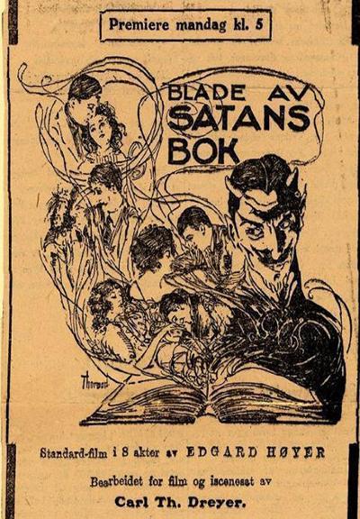 blade af satans bog poster